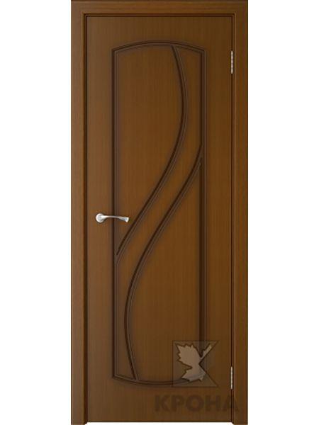 Межкомнатная дверь Крона ПГ Венера (Орех)