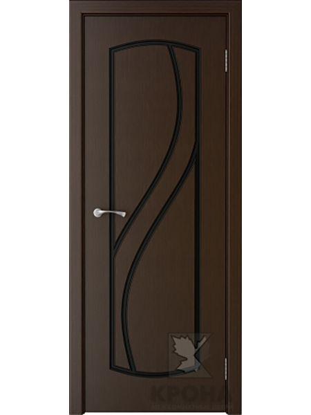 Межкомнатная дверь Крона ПГ Венера (Венге)