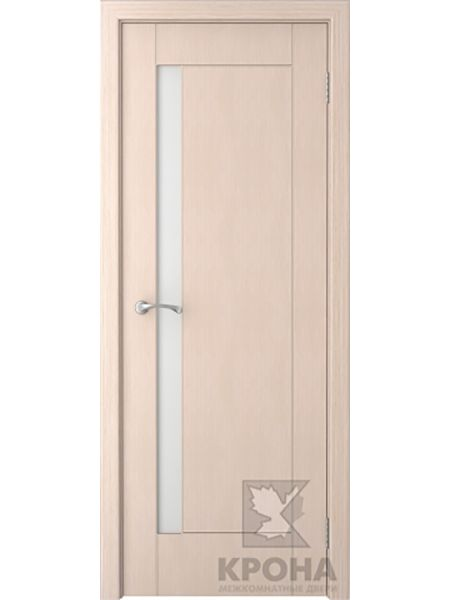 Межкомнатная дверь Крона ПО Гранада (Беленый дуб)