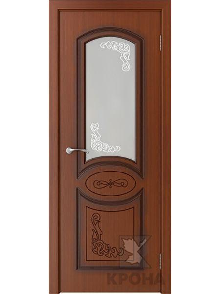 Межкомнатная дверь Крона ПО Муза (Макоре)
