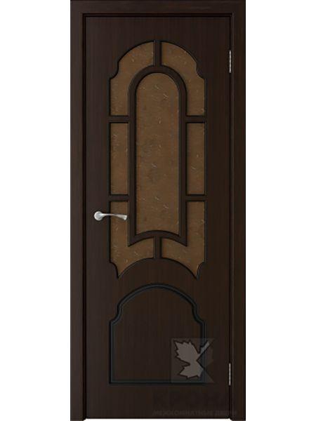 Межкомнатная дверь Крона ПО Соната (Темный шоколад)