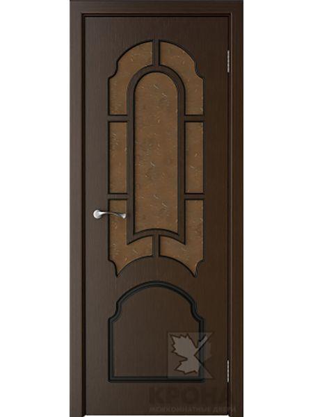 Межкомнатная дверь Крона ПО Соната (Венге)