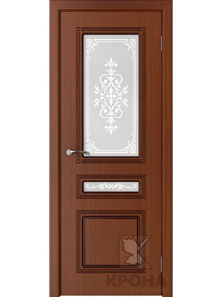 Межкомнатная дверь Крона ПО Стиль (Макоре)
