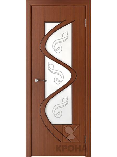 Межкомнатная дверь Крона ПО Вега (Макоре)