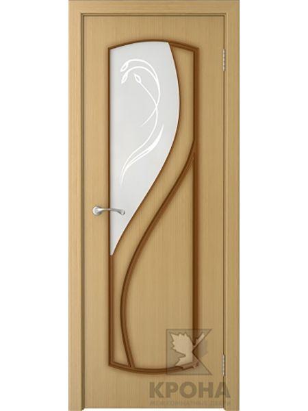 Межкомнатная дверь Крона ПО Венера (Дуб)