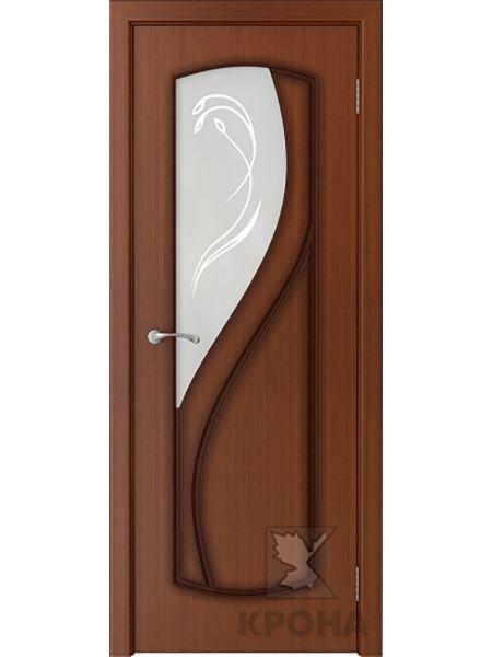 Межкомнатная дверь Крона ПО Венера (Макоре)