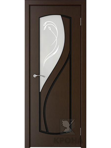 Межкомнатная дверь Крона ПО Венера (Венге)