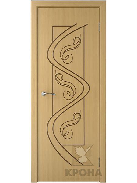 Межкомнатная дверь Крона ПГ Вега (Дуб)