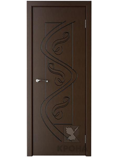 Межкомнатная дверь Крона ПГ Вега (Венге)
