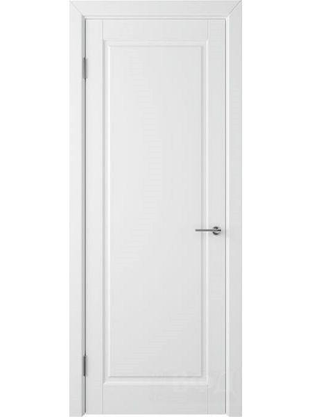 Межкомнатная дверь ВФД Гланта 57ДГ0 (Белая эмаль)
