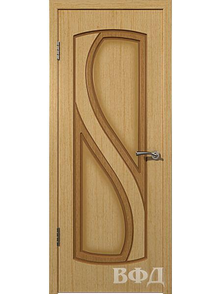Межкомнатная дверь ВФД Грация 10ДГ1 (Светлый дуб)