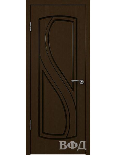 Межкомнатная дверь ВФД Грация 10ДГ4 (Венге)