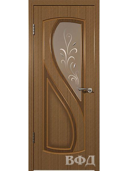 Межкомнатная дверь ВФД Грация 10ДО3 (Орех)