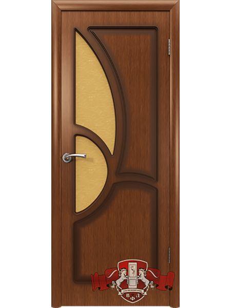 Межкомнатная дверь ВФД Греция 9ДО3 (Орех)