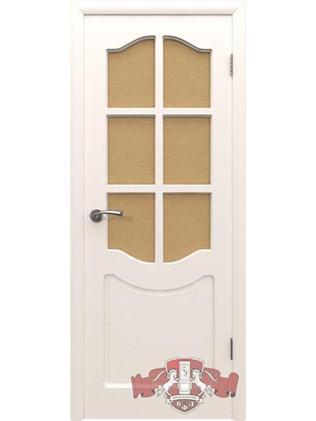 Межкомнатная дверь ВФД Классика 2ДР0 (Белая эмаль)