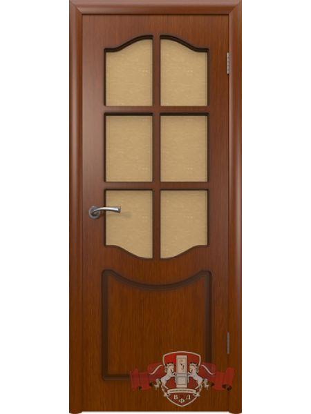 Межкомнатная дверь ВФД Классика 2ДР2 (Макоре)