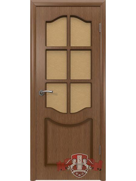Межкомнатная дверь ВФД Классика 2ДР3 (Орех)