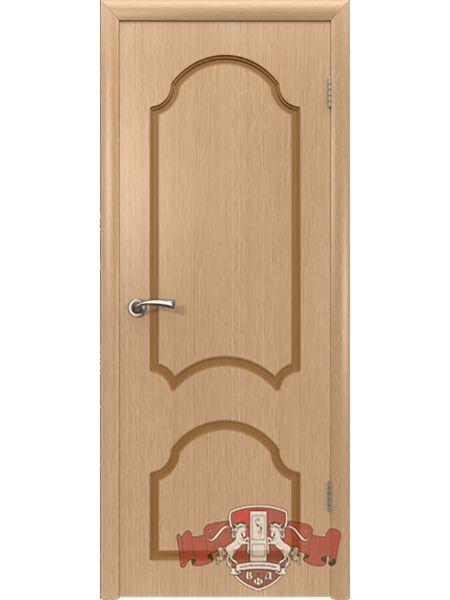 Межкомнатная дверь ВФД Кристалл 3ДГ1 (Светлый дуб)