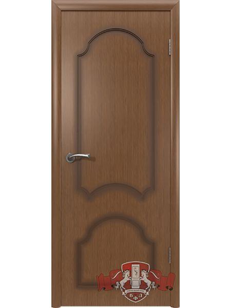 Межкомнатная дверь ВФД Кристалл 3ДГ3 (Орех)