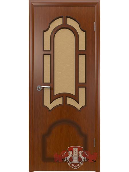Межкомнатная дверь ВФД Кристалл 3ДР2 (Макоре)