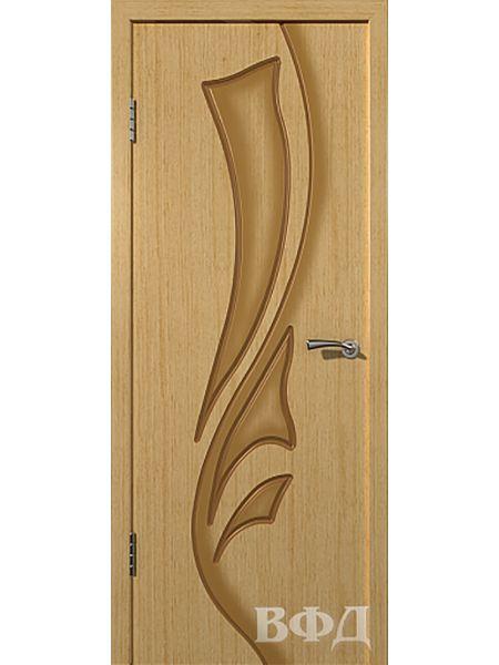 Межкомнатная дверь ВФД Лилия 5ДГ1 (Светлый дуб)