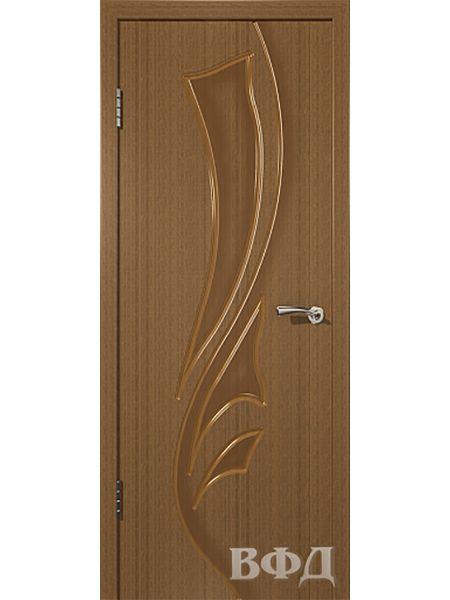 Межкомнатная дверь ВФД Лилия 5ДГ3 (Орех)