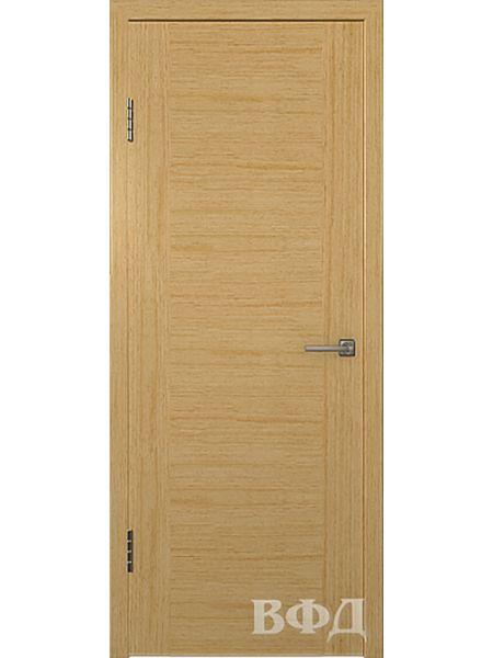 Межкомнатная дверь ВФД Рондо 8ДГ1 (Светлый дуб)