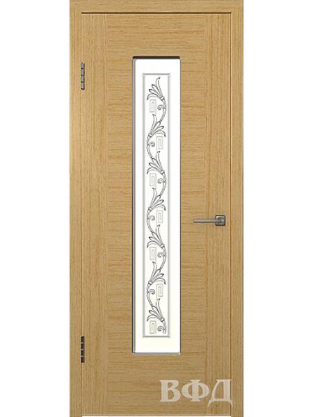 Межкомнатная дверь ВФД Рондо 8ДО1 (Светлый дуб)
