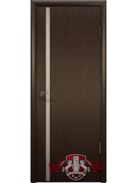 Межкомнатная дверь ВФД Рондо-Триплекс 8ДГ4 (Венге)