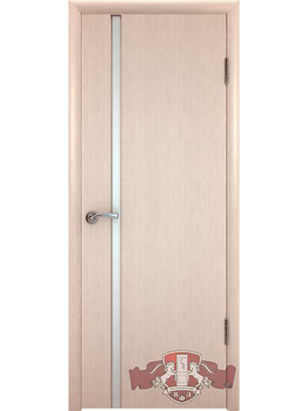 Межкомнатная дверь ВФД Рондо-Триплекс 8ДГ5 (Беленый дуб)