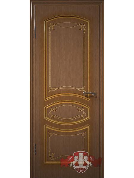 Межкомнатная дверь ВФД Версаль 13ДГ3 (Орех)