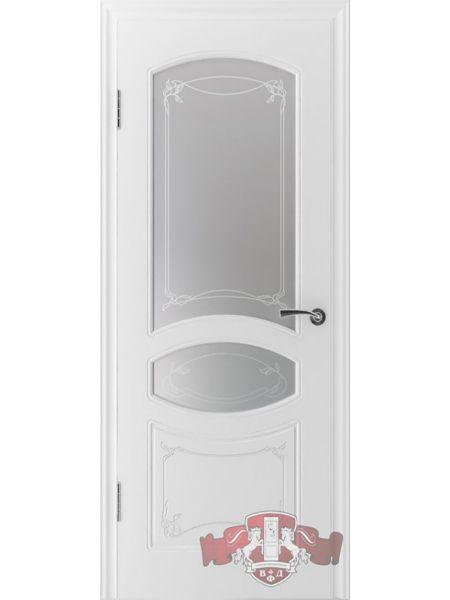 Межкомнатная дверь ВФД Версаль 13ДР0 (Белая эмаль)