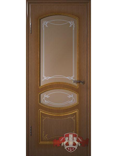 Межкомнатная дверь ВФД Версаль 13ДР3 (Орех)