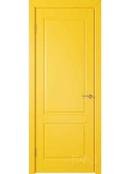 Межкомнатная дверь ВФД Доррен 58ДГ08 (Желтая эмаль)