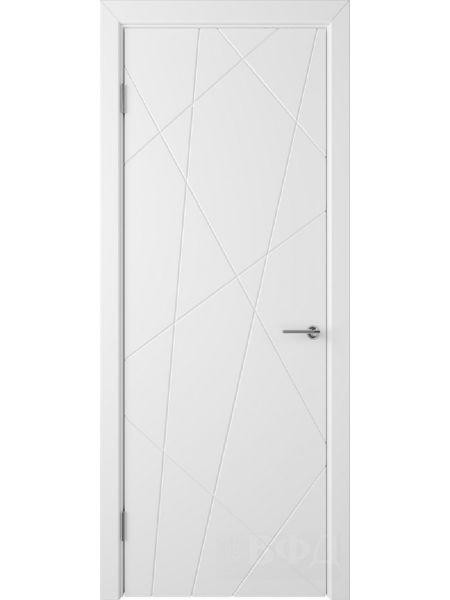 Межкомнатная дверь ВФД Флитта 26ДГ0 (Белая эмаль)