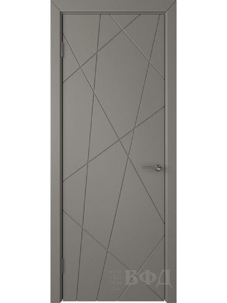 Межкомнатная дверь ВФД Флитта 26ДГ03 (Темно-серая эмаль)