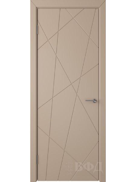 Межкомнатная дверь ВФД Флитта 26ДГ04 (Латте эмаль)