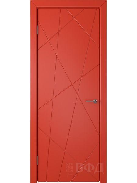 Межкомнатная дверь ВФД Флитта 26ДГ07 (Красная эмаль)