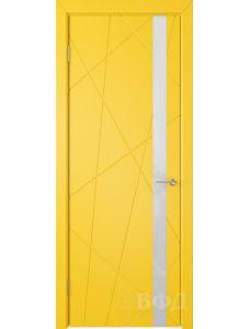 ВФД Флитта 26ДО08 (Желтая эмаль - Стекло белое)