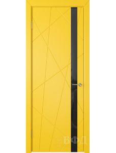 ВФД Флитта 26ДО08 (Желтая эмаль - Стекло черное)