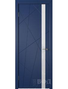 ВФД Флитта 26ДО09 (Синяя эмаль - Стекло белое)