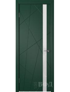 ВФД Флитта 26ДО10 (Зеленая эмаль - Стекло белое)