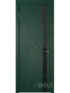 ВФД Флитта 26ДО10 (Зеленая эмаль - Стекло черное)