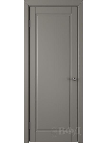 Межкомнатная дверь ВФД Гланта 57ДГ03 (Темно-серая эмаль)