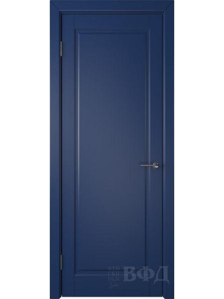 Межкомнатная дверь ВФД Гланта 57ДГ09 (Синяя эмаль)