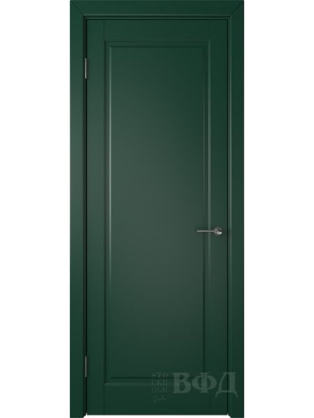 Межкомнатная дверь ВФД Гланта 57ДГ10 (Зеленая эмаль)
