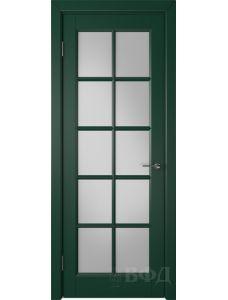 ВФД Гланта 57ДО10 (Зеленая эмаль - Белый сатинат)