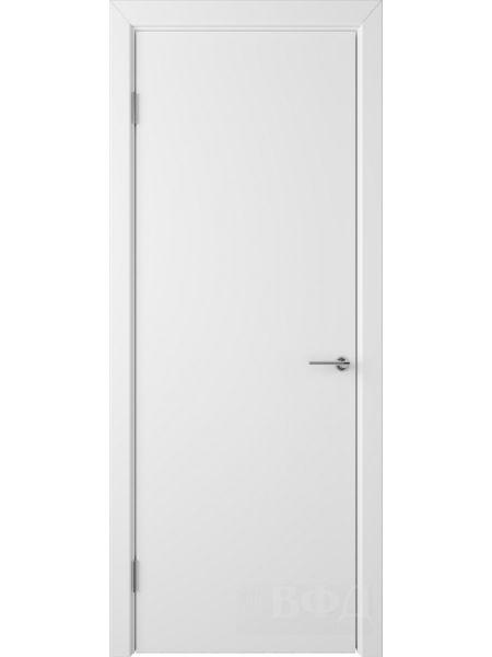 Межкомнатная дверь ВФД Ньюта 59ДГ0 (Белая эмаль)