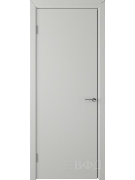 Межкомнатная дверь ВФД Ньюта 59ДГ02 (Светло-серая эмаль)