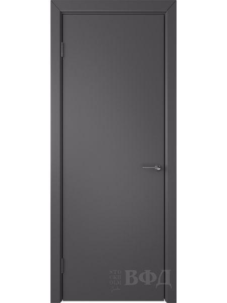 Межкомнатная дверь ВФД Ньюта 59ДГ06 (Графит эмаль)